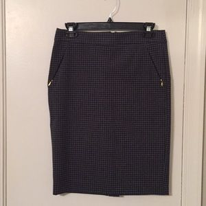 The Limited stretch pencil skirt with pockets